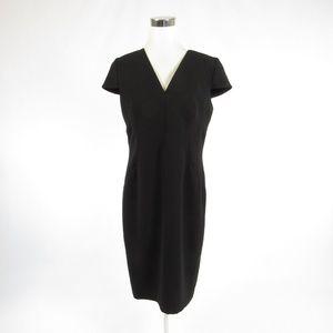 Frascara black sheath dress 12